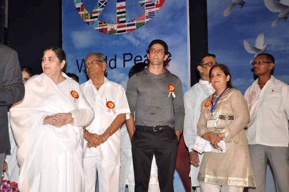 Hrithik Roshan At The Launch Of I Pledge 4 Peace Project