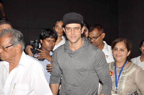 Hrithik Roshan Snapped At The Launch Of I Pledge 4 Peace Project