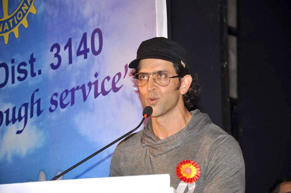 Hrithik Roshan Speaks During I Pledge 4 Peace Project Launch Event