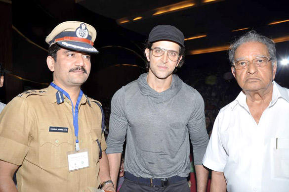 Hrithik Roshan Spotted At The Launch Of I Pledge 4 Peace Project