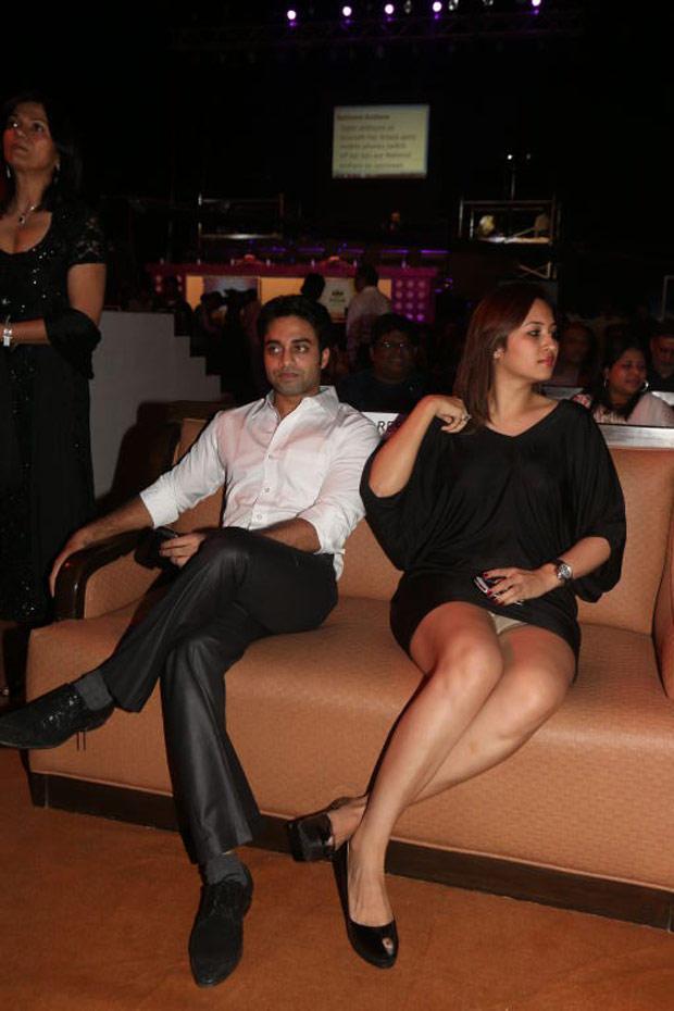 Navdeep and Jwala Gutta in I Am She 2012 Final