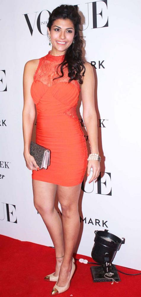 Archana Vijaya Short Dress Still at Vogue Magazine 5th Birthday Party