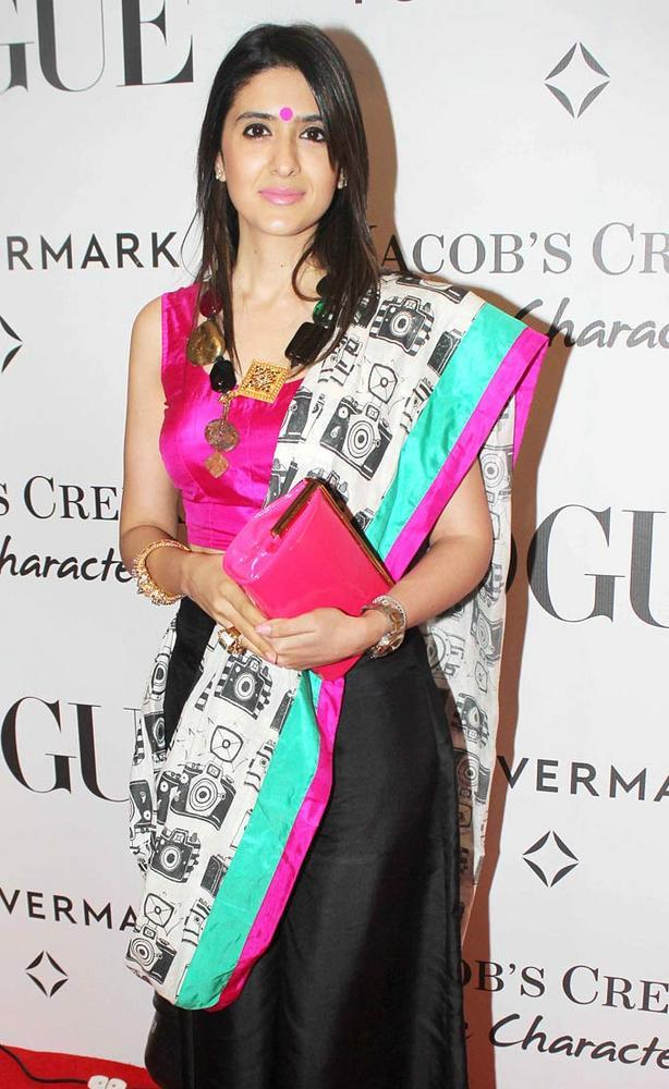 Pooja Makhija at Vogue's 5th Birthday Party