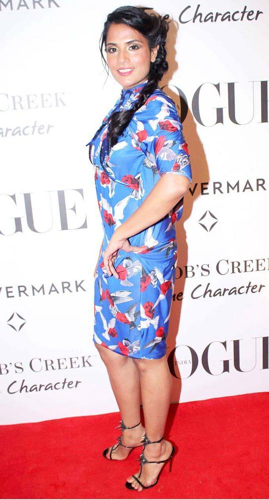 Richa Chadha On Red Carpet at Vogue's 5th Birthday Party