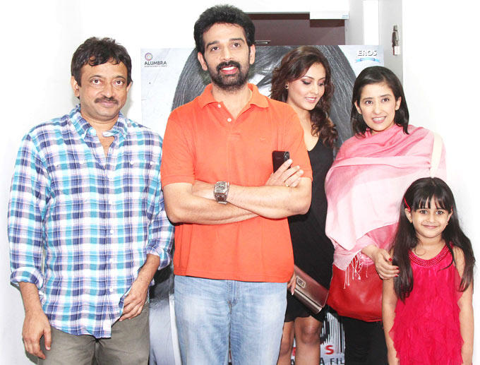 Cast at First Look Launch Of Bhoot Returns