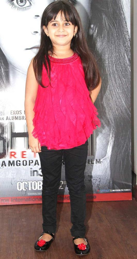 Cute Alayana Sharma at Bhoot Returns Movie First Look Launch Event