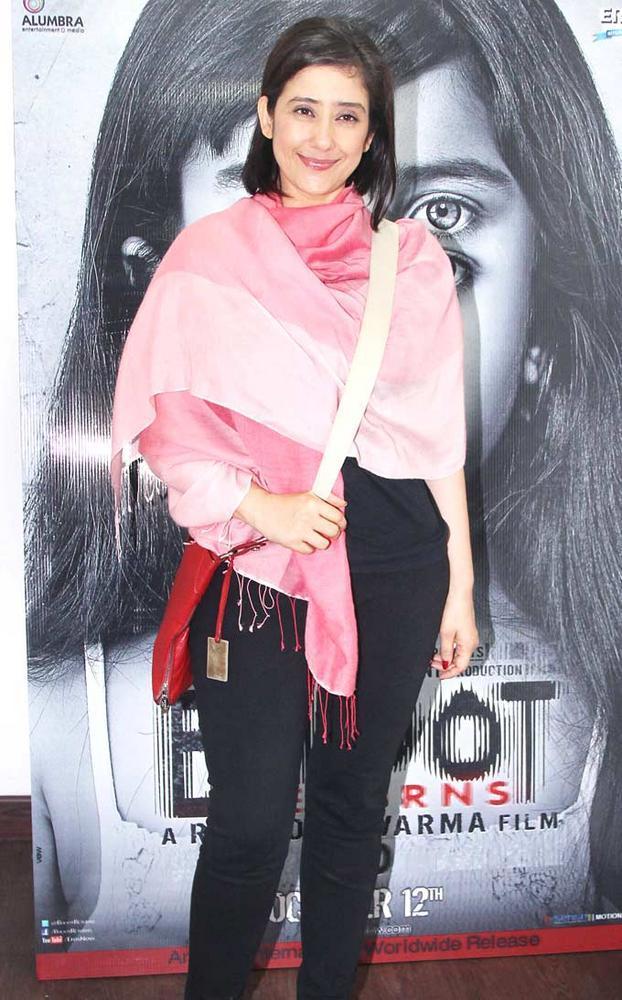 Manisha Koirala at Bhoot Returns Movie First Look Launch Event
