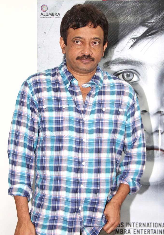 Ram Gopal Varma at Upcoming Horror Flick Bhoot Returns First Look Launch