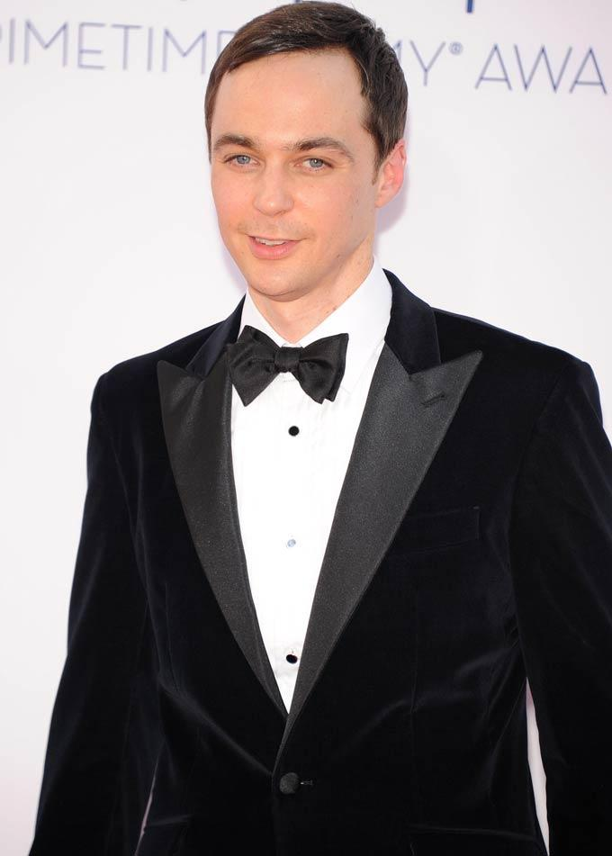 Jim Parsons Spotted at Emmy Awards 2012