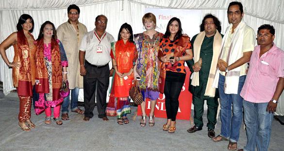 Celebs at Andheri Cha Raja In Mumbai