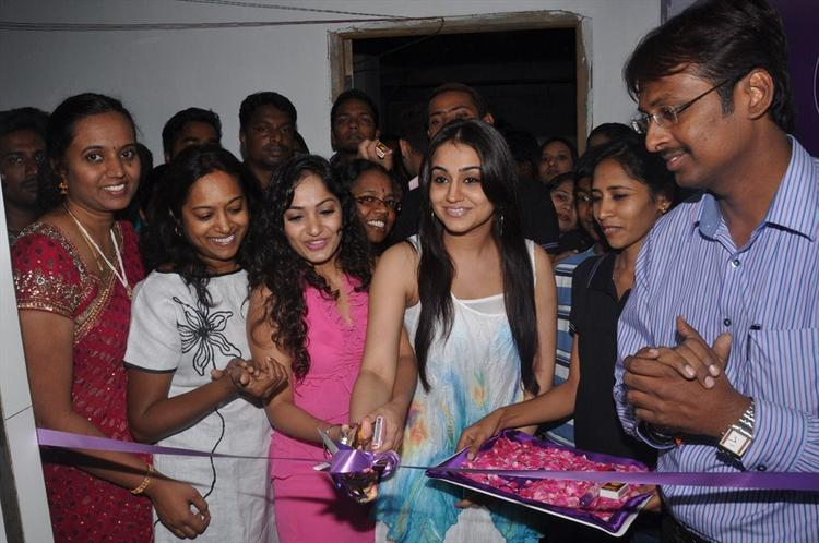 Naturals Family Salon Inaugurated By Actresses Aksha and Madhavi Latha