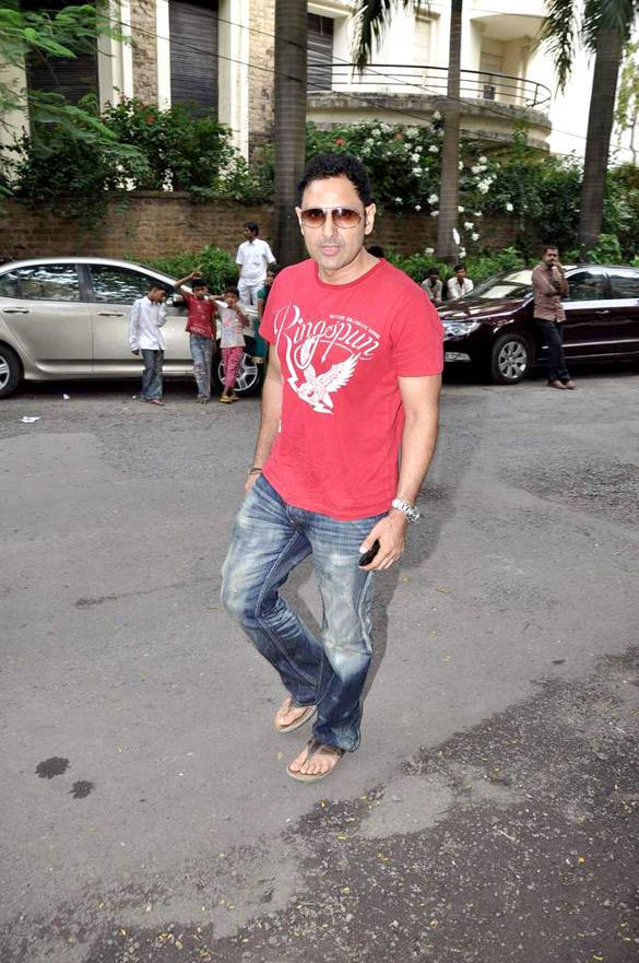 Parvin Dabas at Jeetendra's Residence For Ganpati Visarjan