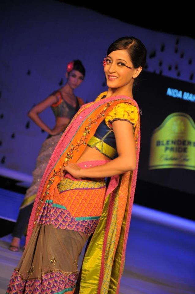 Raima Sen Walk On The Ramp Blenders Pride Fashion Tour Kolkata