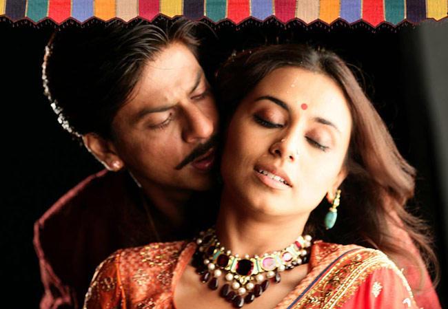 Shahrukh Khan and Rani Latest Hot Still In Paheli