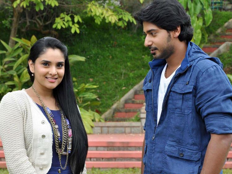Prajwal Devaraj and Ramya A Still From The Movie Dil Ka Raja