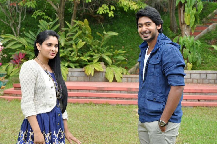 Prajwal Devaraj and Ramya Upcoming Cinema Dil Ka Raja Still
