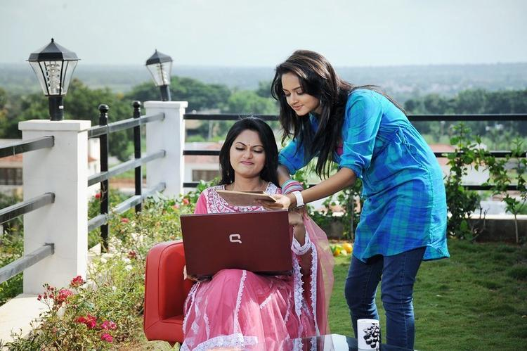 Shanvi A Still From The Telugu Movie Adda