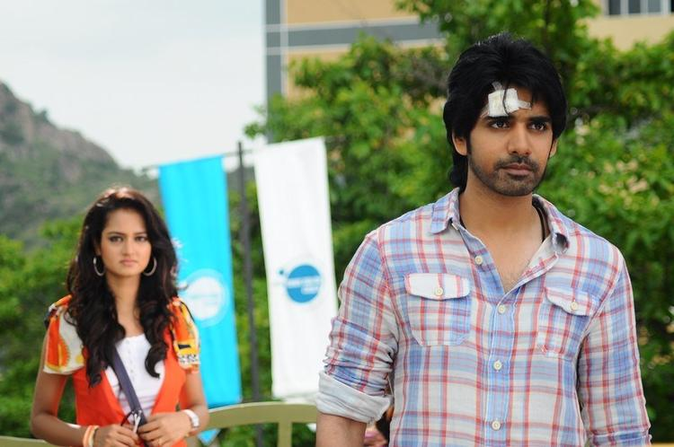 Sushanth and Shanvi in Adda Telugu Movie