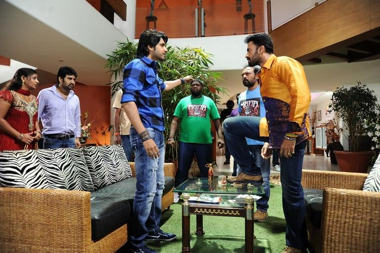Sushanth Angry Look In Adda Movie