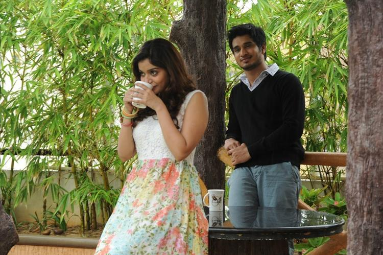 Nikhil Siddharth and Swathi A Still From The Movie Swamy Ra Ra