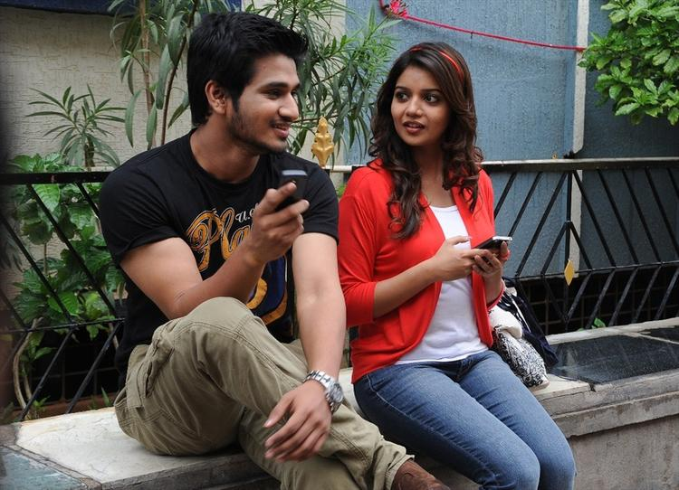 Nikhil Siddharth and Swathi Swamy Ra Ra Movie Still