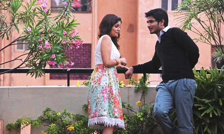 Nikhil Siddharth and Swathi Sweetest Still In Swamy Ra Ra Movie