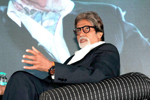 Amitabh Bachchan Made An Appearance At The Launch Of An Online Magazine