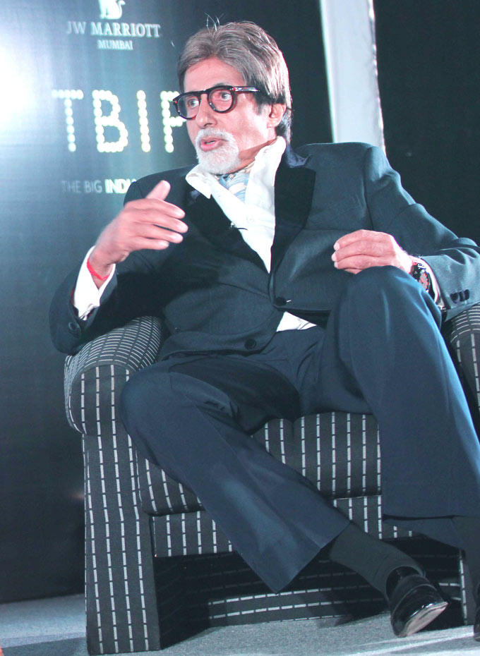 Amitabh Bachchan Speaks During The Launch Of The Online Magazine