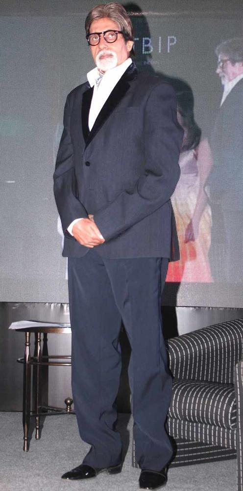 Big B At The Launch Of The Online Magazine,TBIP