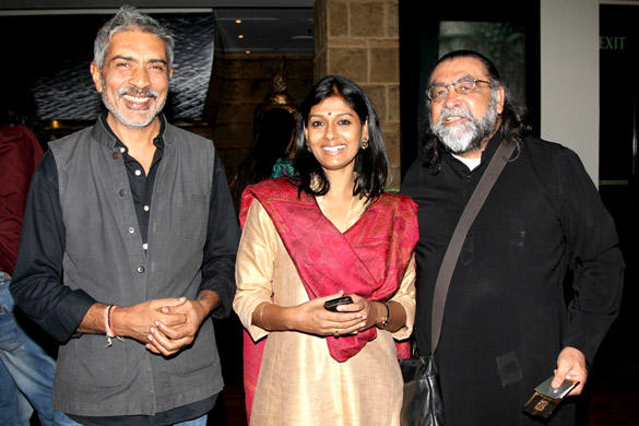 Nandita and Prakash at The Launch of  The Big Indian Picture Website