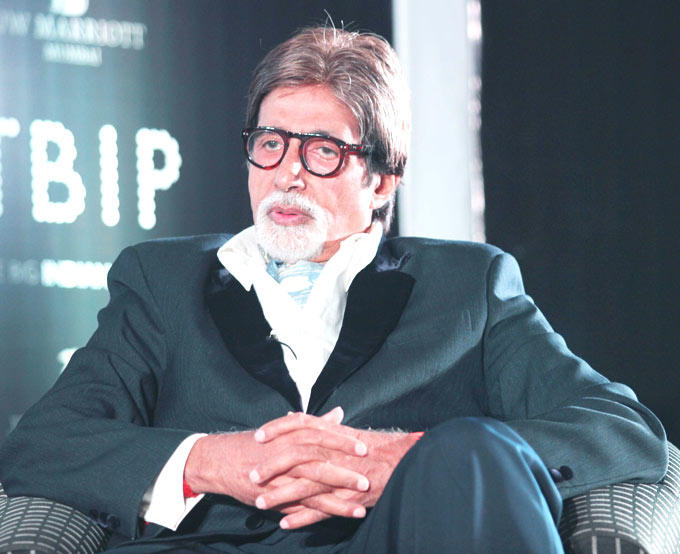 Superstar Amitabh Bachchan At The Launch Of The Online Magazine On Cinema