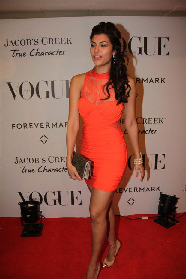Archana Vijaya Sexy Pose at Vogue India 5th Anniversary Bash