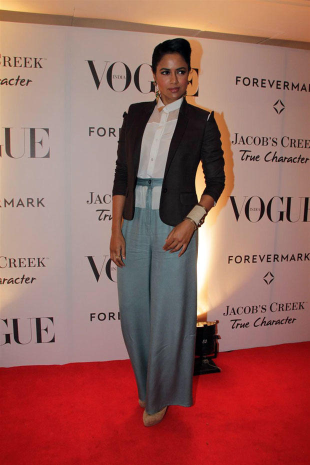 Sameera Reddy at Vogue India's 5 Anniversary Bash