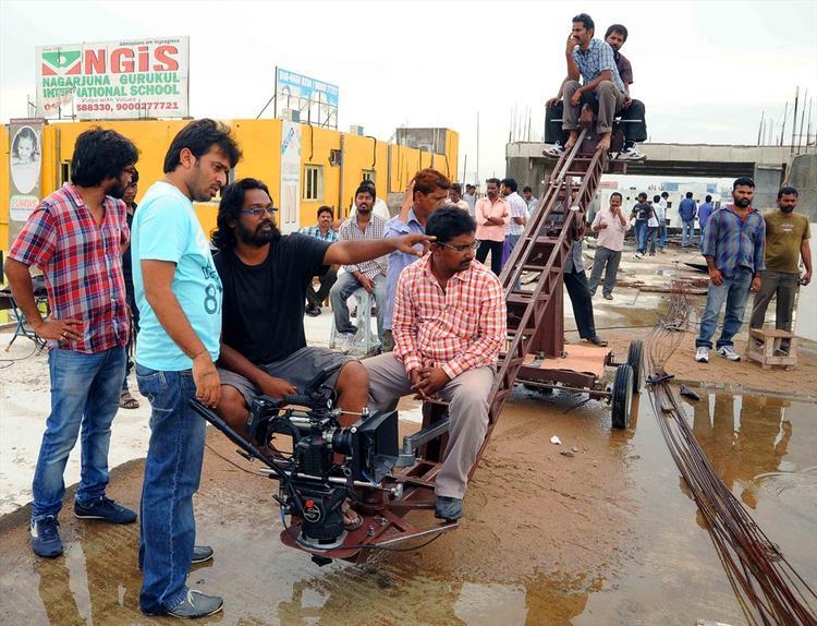 Swamy RaRa Movie Shooting Set Still