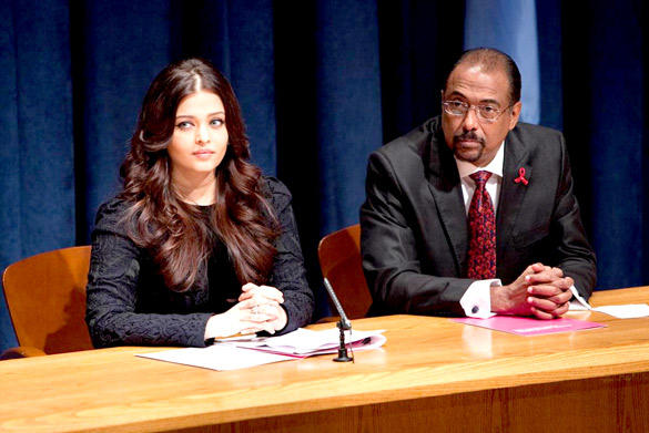Aishwarya Attend UN Programme On AIDS and HIV