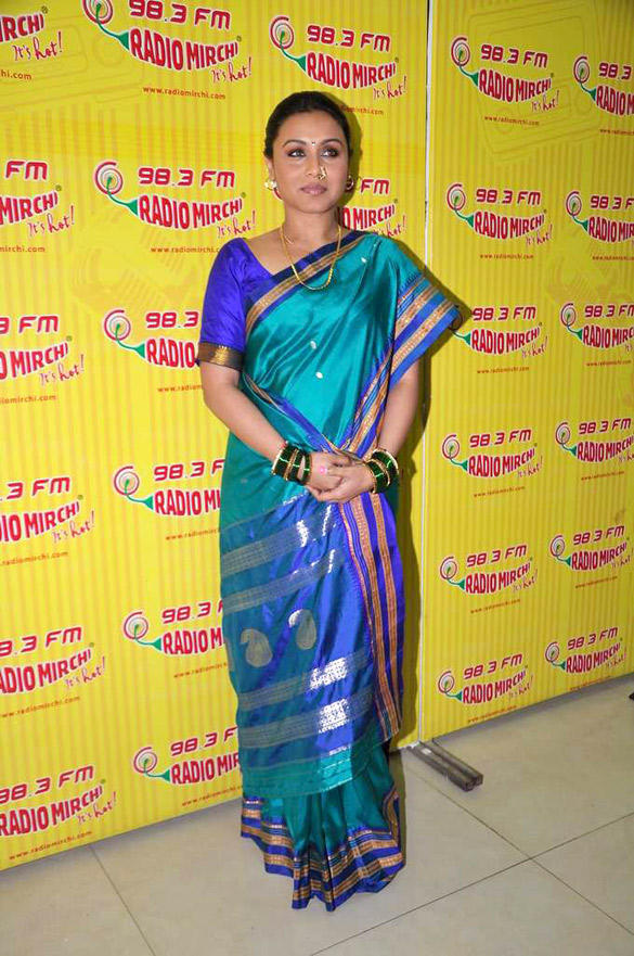 Rani Mukherjee Photo Shoot at 98.3 FM Radio Mirchi