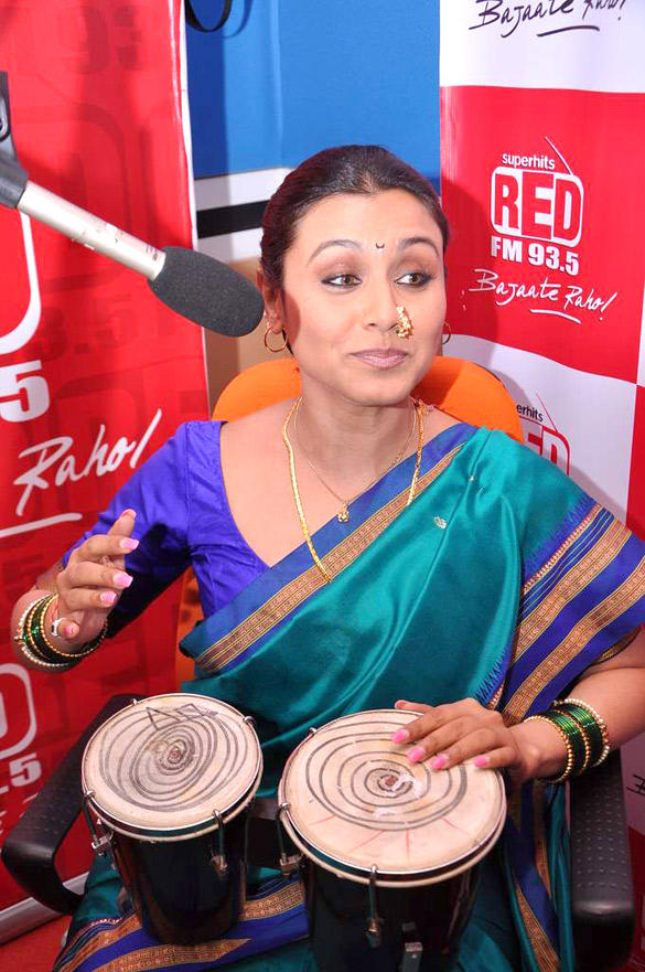 Rani Mukherjee Promote Aiyyaa at RED FM 93.5