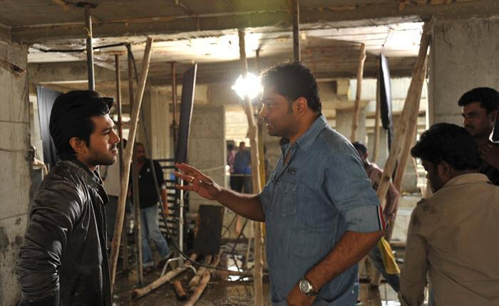 Ram Charan Yevadu Movie Location Still