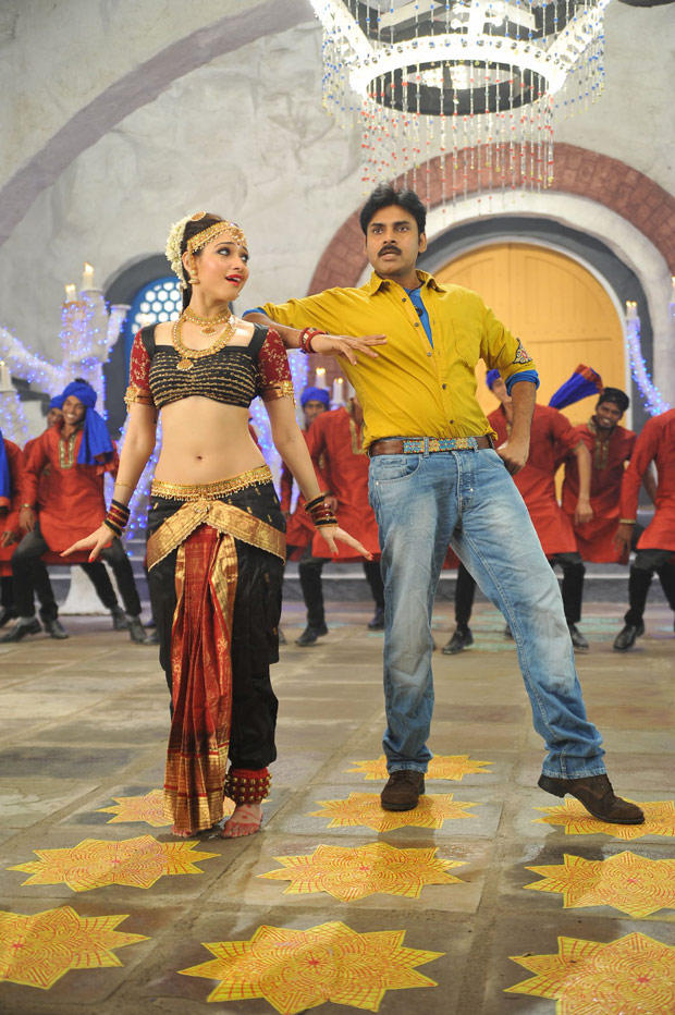 Pawan and Tamanna Cameraman Gangatho Rambabu Movie New Song Still