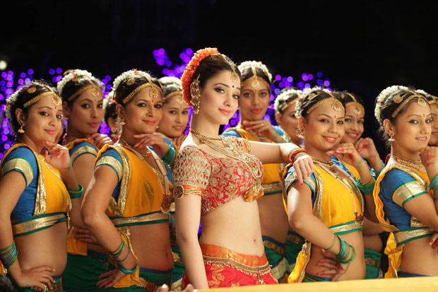 Sizzling Sexy Tamanna New Still From The Movie Cameraman Gangatho Rambabu