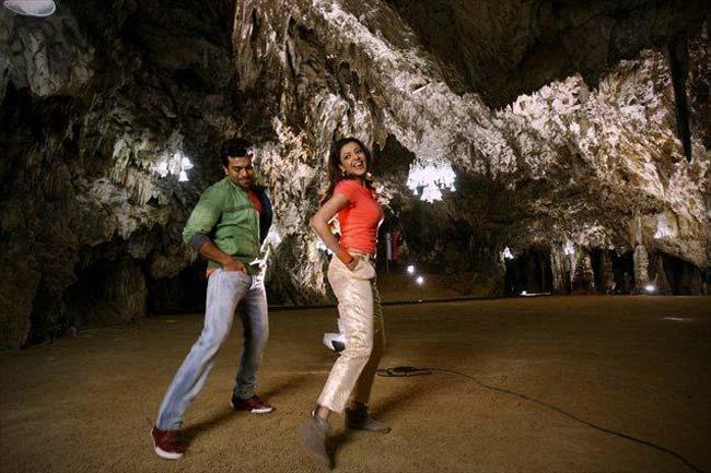 Ram Charan and Kajal Nayak Movie Exclusive Still