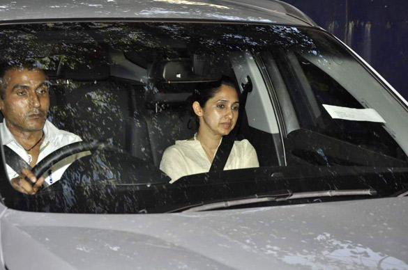 Rinke Khanna Arrives at Breach Candy Hospital To See Twinkle's Baby Girl