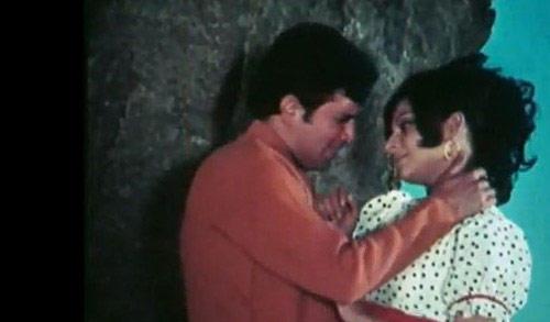Rajesh Khanna Romance Still In Daag