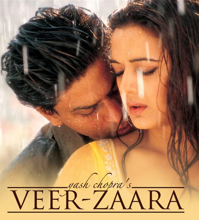 Shahrukh Khan and Preity Zinta Hot Scene In Veer Zaara