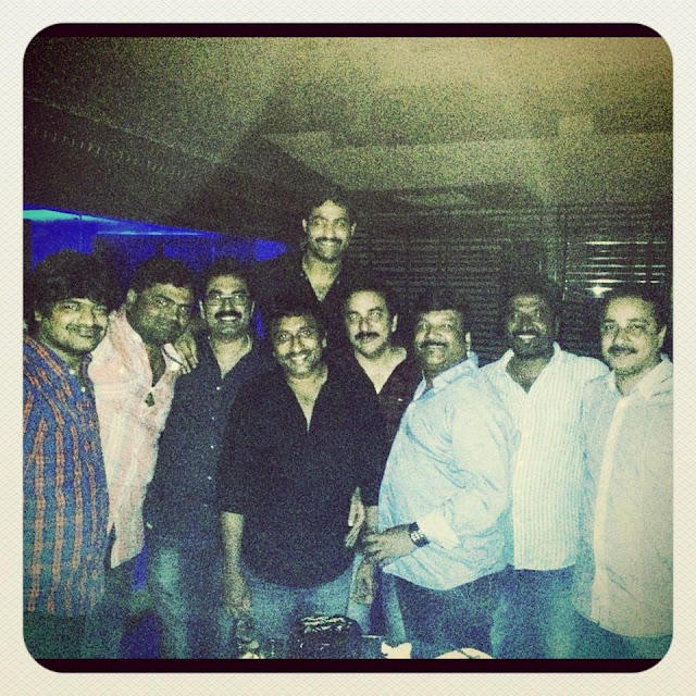 Jr NTR With The Directors Rare Photo