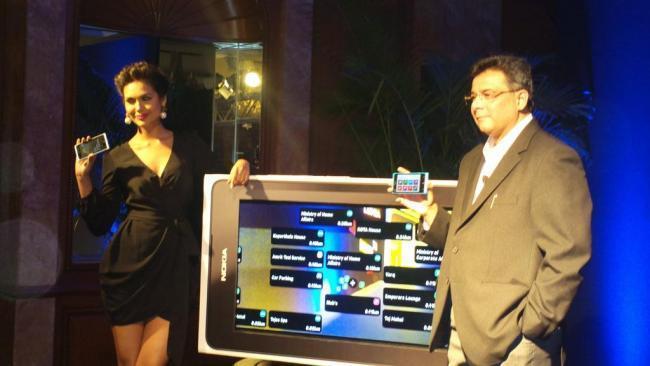 Esha Gupta Launched The New Range of Nokia Lumia Phones at An Event