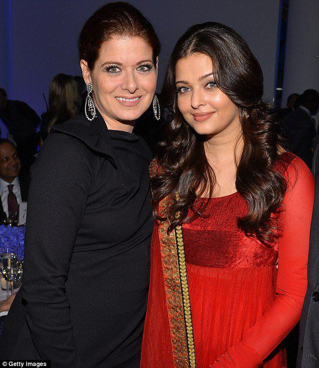 Aishwarya and Debra Messing UNs Every Woman Every Child Charity Dinner