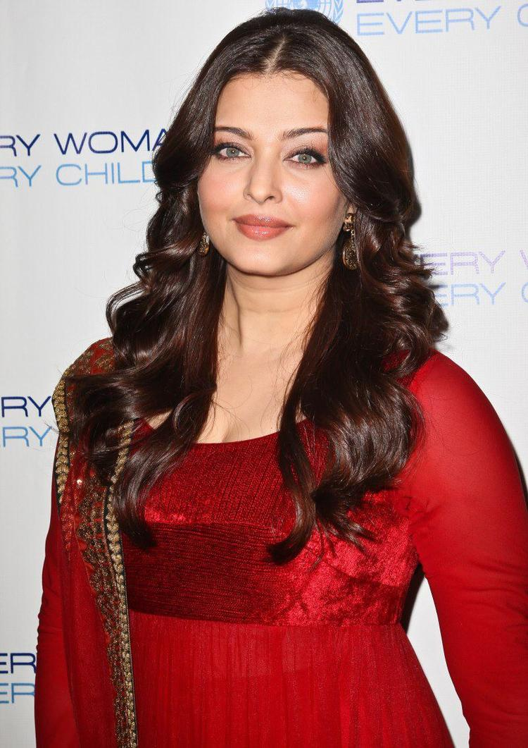 Aishwarya Rai Stunning Face Look at Every Woman Every Child Charity Dinner