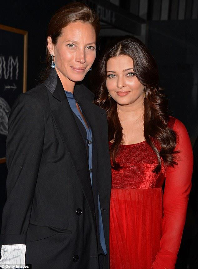 Christy and Aishwarya Attend The United Nations Every Woman Every Child Charity Dinner