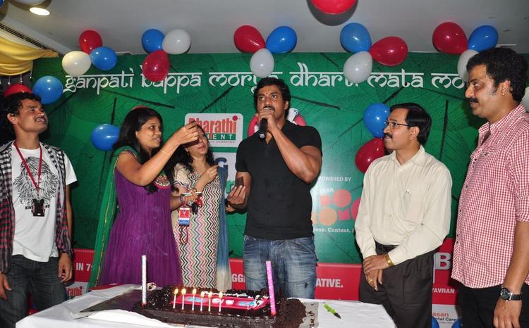 Actor Sunil at Big Green Ganesha 2012 Imax Hyderabad